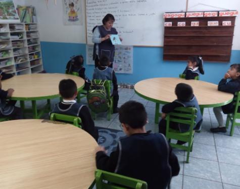 "Lectura de ¡Estela, grita muy fuerte!"" en Tuxpan, Jalisco"